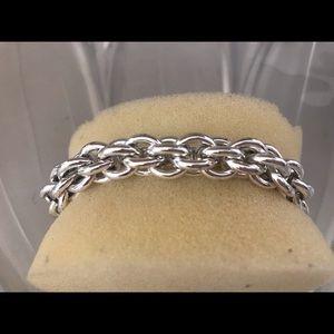 Vintage Napier Clustered Links Bracelet